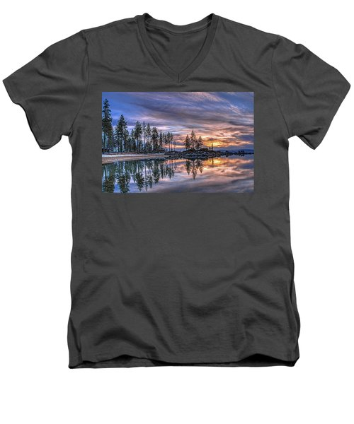 Waning Winter Men's V-Neck T-Shirt