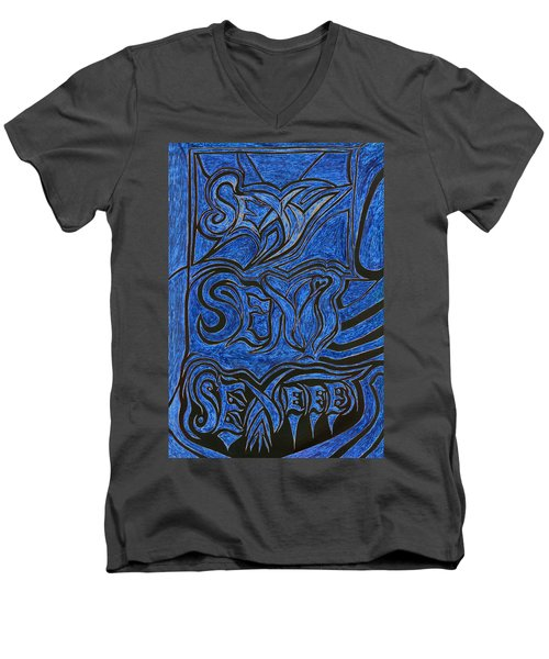 Sexy Sexi Sexeee Men's V-Neck T-Shirt