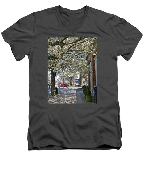 Small Town Saturday 2 Men's V-Neck T-Shirt