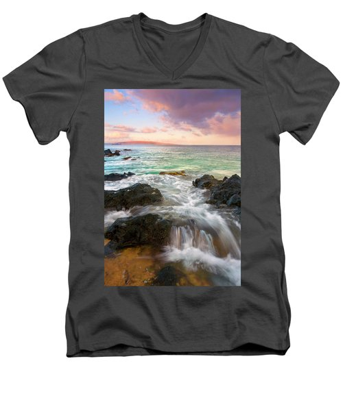 Sunrise Surge Men's V-Neck T-Shirt