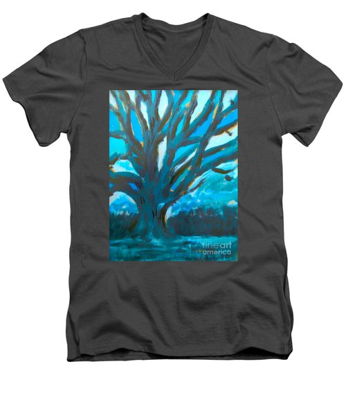 The Blue Tree Men's V-Neck T-Shirt