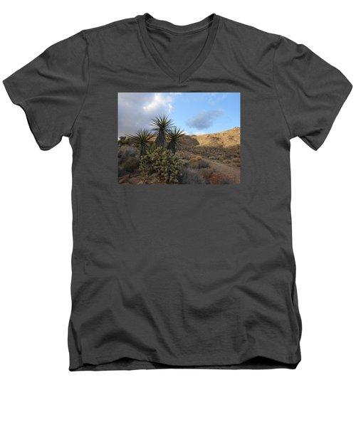 The Living Desert Men's V-Neck T-Shirt