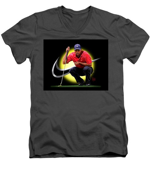 Tiger Eyes Men's V-Neck T-Shirt
