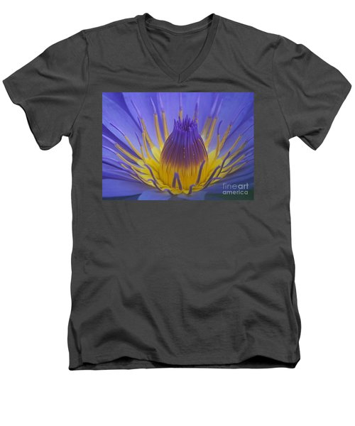 Tropic Water Lily 16 Men's V-Neck T-Shirt