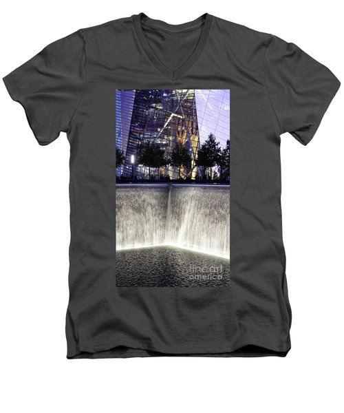 World Trade Center Museum Men's V-Neck T-Shirt