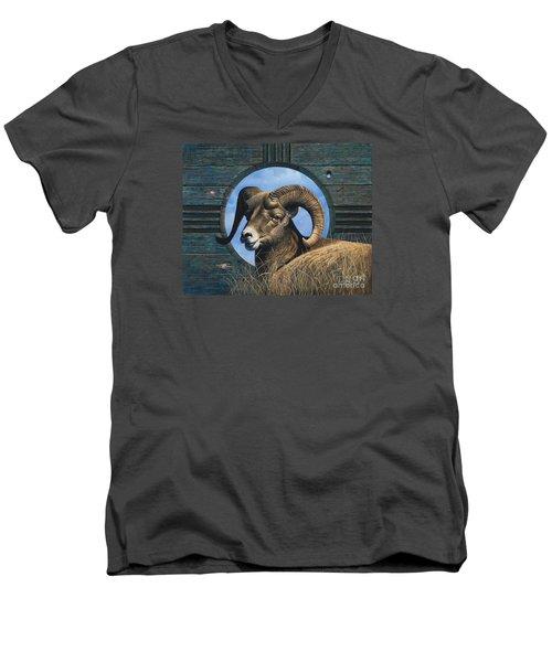 Zia Ram Men's V-Neck T-Shirt