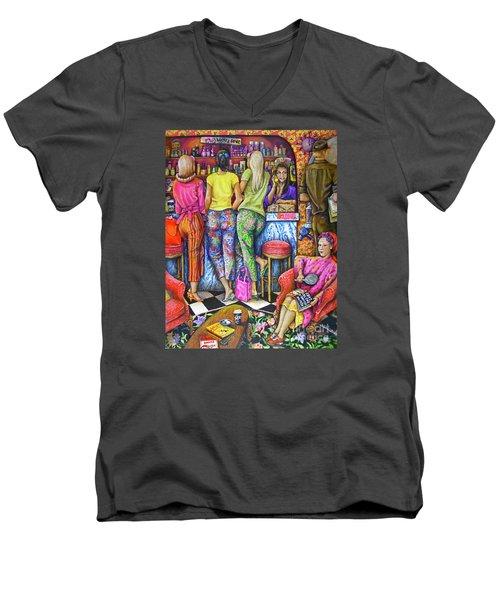Shop Talk Men's V-Neck T-Shirt