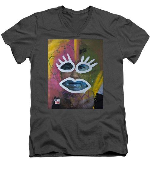 2404 Men's V-Neck T-Shirt