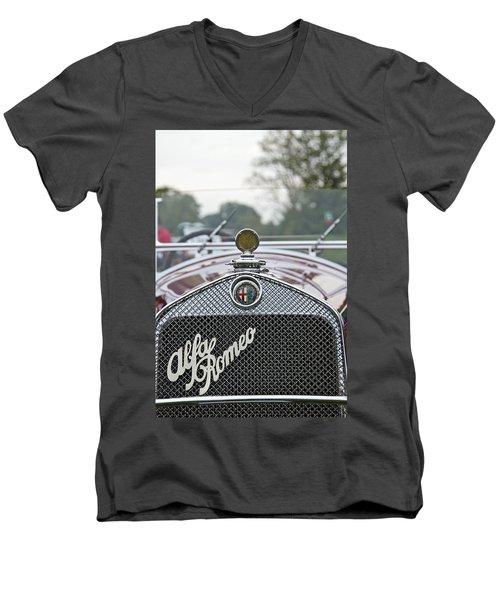 1931 Alfa Romeo Men's V-Neck T-Shirt