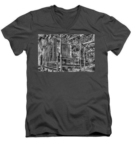 Abandoned Steam Plant Men's V-Neck T-Shirt