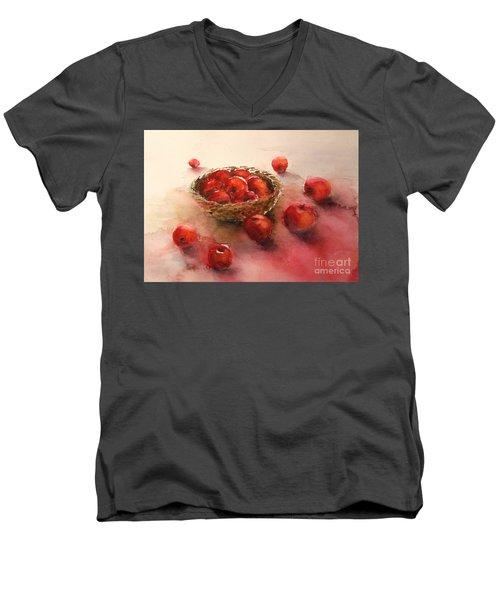 Apples  Apples Men's V-Neck T-Shirt