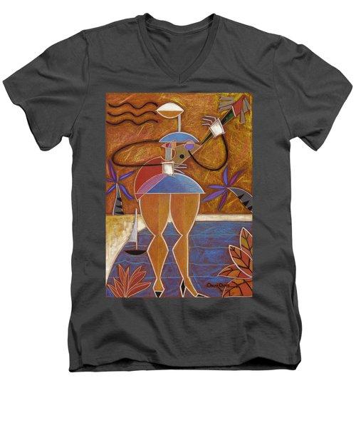 Cuatro Caliente Men's V-Neck T-Shirt