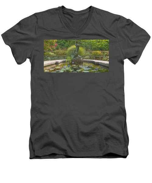 Park Beauty Men's V-Neck T-Shirt