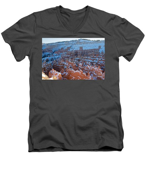 Sunset Point Bryce Canyon National Park Men's V-Neck T-Shirt