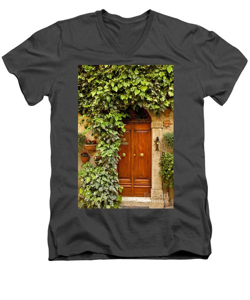 Tuscan Door Men's V-Neck T-Shirt