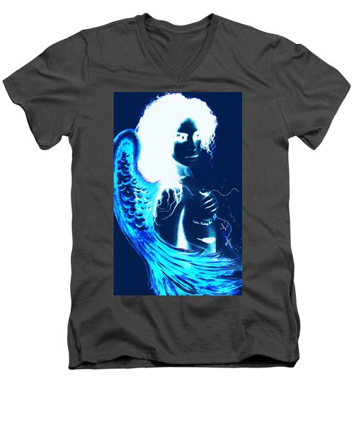 When Heaven And Earth Collide 1 Men's V-Neck T-Shirt