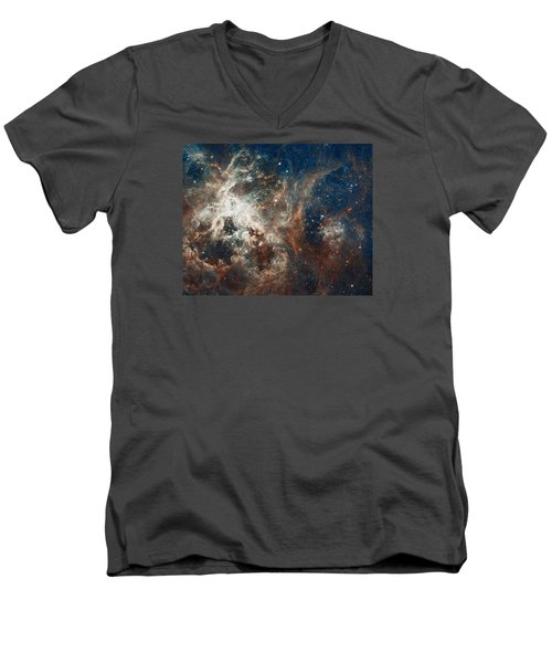 30 Doradus Men's V-Neck T-Shirt by Nasa