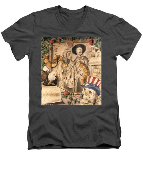 Broken Promises Men's V-Neck T-Shirt