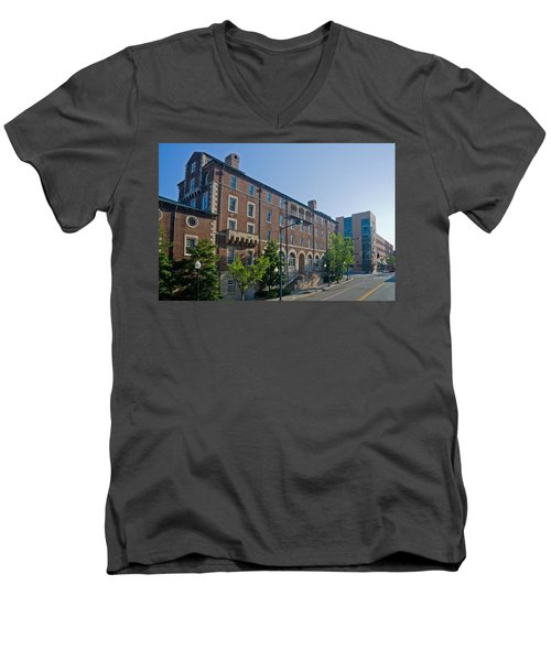 Downtown Knoxville Men's V-Neck T-Shirt