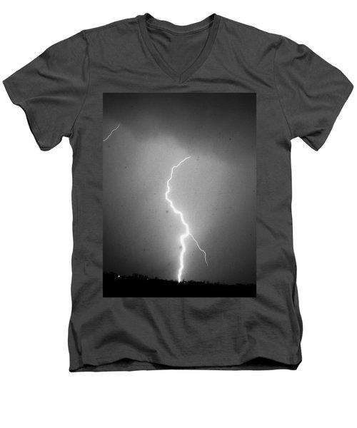 Our 1st Severe Thunderstorms In South Central Nebraska Men's V-Neck T-Shirt