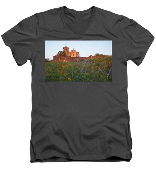 Presidio La Bahia 2 Men's V-Neck T-Shirt