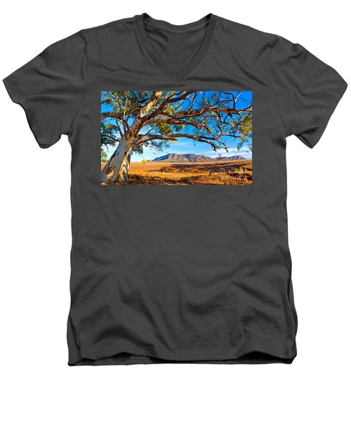 Wilpena Pound Men's V-Neck T-Shirt