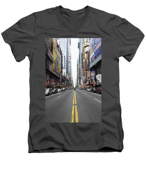 42nd Street - New York Men's V-Neck T-Shirt