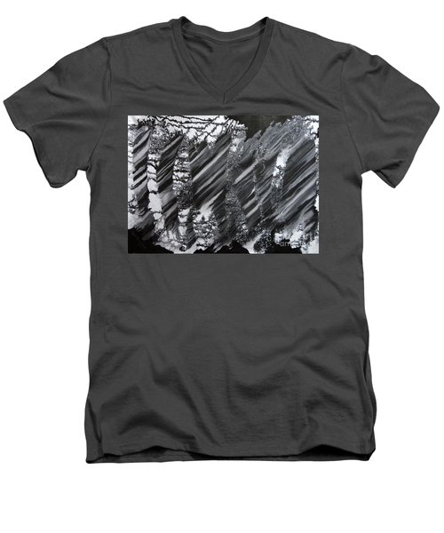 Vision Third Men's V-Neck T-Shirt
