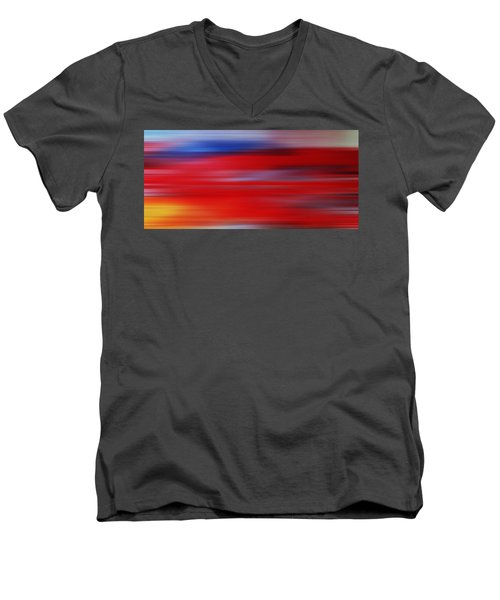 Series Mesmerizing Landscapes Men's V-Neck T-Shirt
