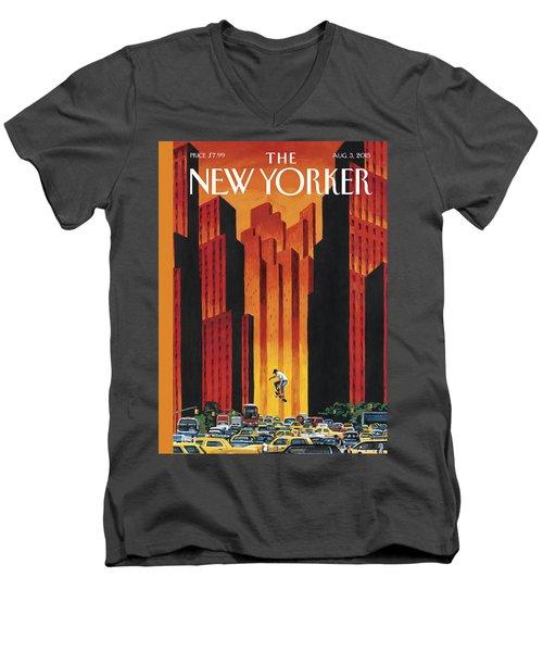 The Endless Summer Men's V-Neck T-Shirt