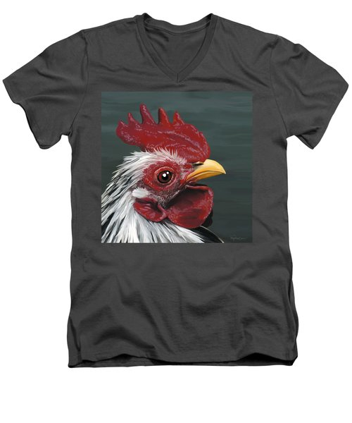50. Just Head Men's V-Neck T-Shirt