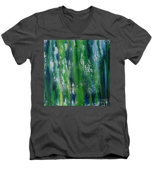 Greenery Duars Men's V-Neck T-Shirt