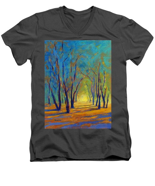 Colors Of Spring Men's V-Neck T-Shirt
