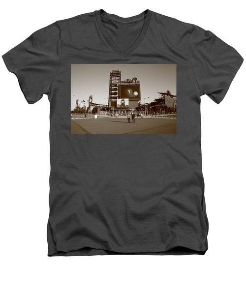 Citizens Bank Park - Philadelphia Phillies Men's V-Neck T-Shirt