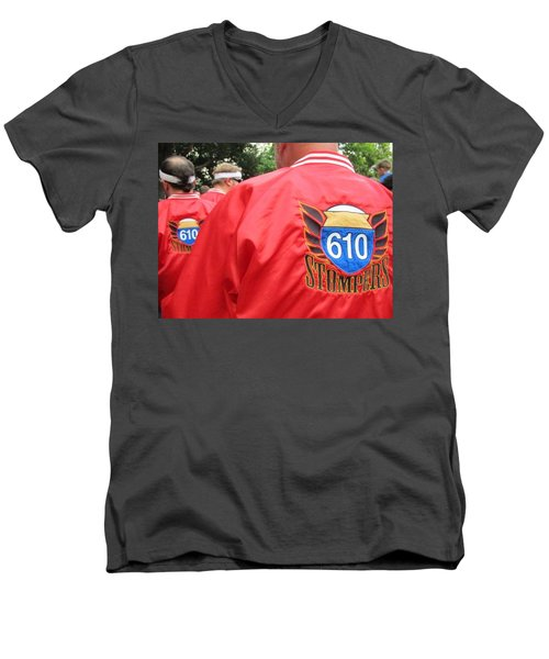 610 Stompers - New Orleans La Men's V-Neck T-Shirt