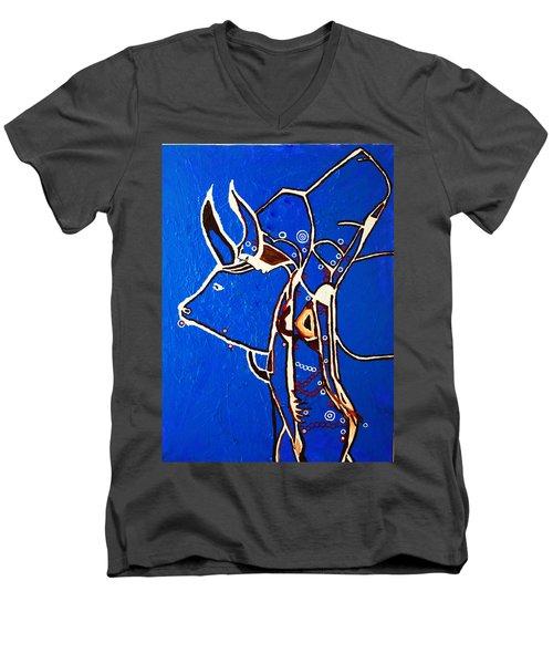 Dinka Livelihood - South Sudan Men's V-Neck T-Shirt