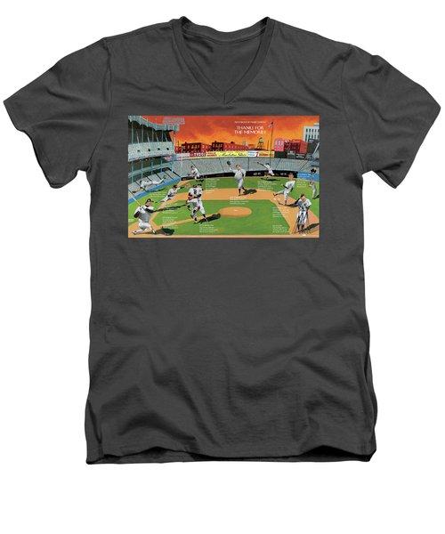New Yorker September 22nd, 2008 Men's V-Neck T-Shirt