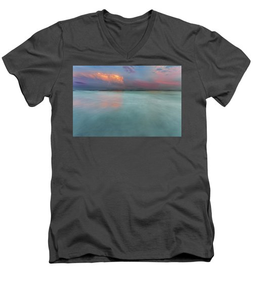 Sunset On Hilton Head Island Men's V-Neck T-Shirt