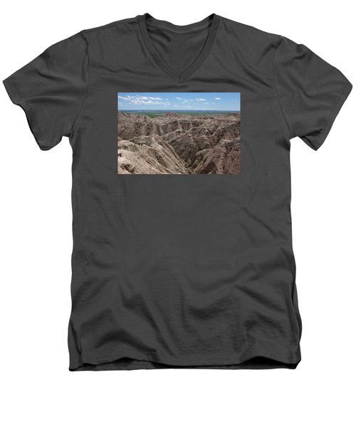 The Badlands Men's V-Neck T-Shirt