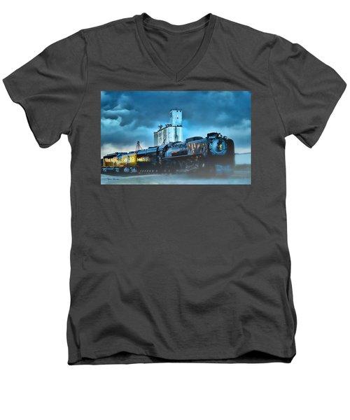 844 Night Train Men's V-Neck T-Shirt