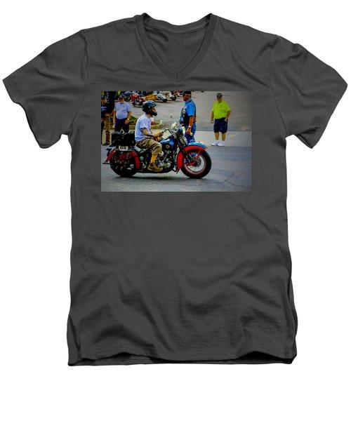 85 Arrives Men's V-Neck T-Shirt