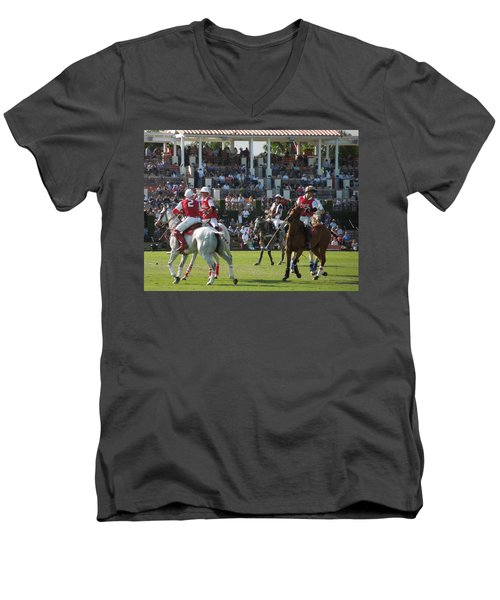 International Polo Club Men's V-Neck T-Shirt