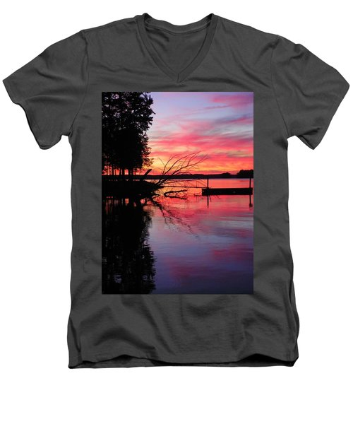 Sunset 9 Men's V-Neck T-Shirt