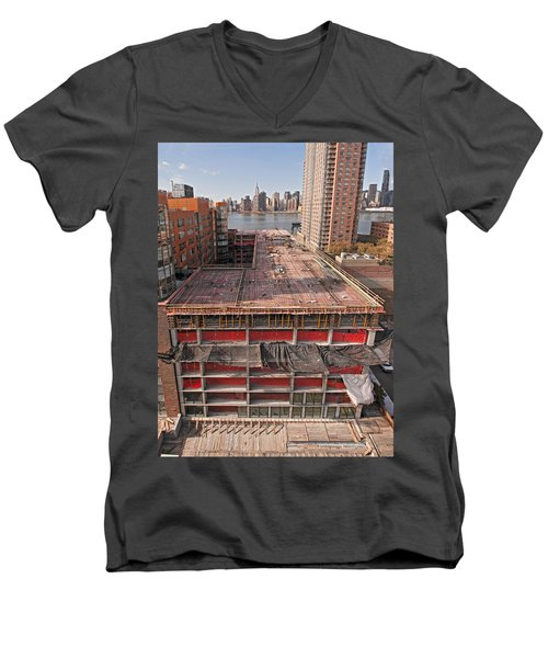 9th Floor Forms Men's V-Neck T-Shirt