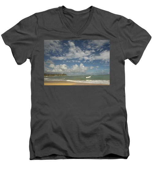 A Beautiful Day Men's V-Neck T-Shirt