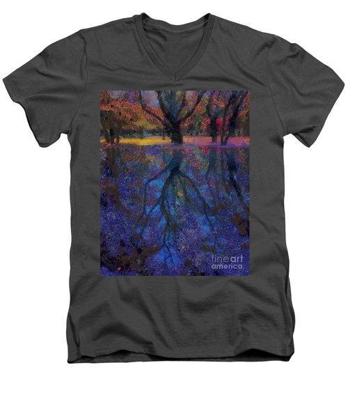A Beautiful Reflection  Men's V-Neck T-Shirt