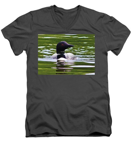 Men's V-Neck T-Shirt featuring the photograph A Bit Of Serenity by Bruce Bley