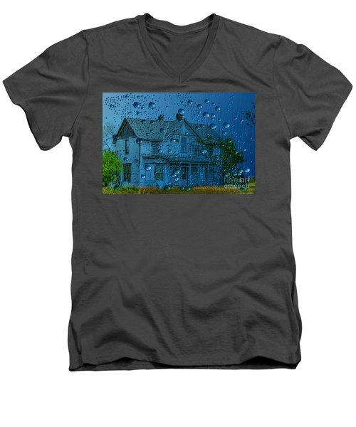 Men's V-Neck T-Shirt featuring the photograph A Bit Of Whimsy For The Soul... by Liane Wright