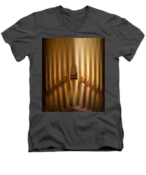 A Blur Of Pipes Men's V-Neck T-Shirt