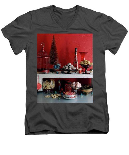 A Christmas Display Men's V-Neck T-Shirt